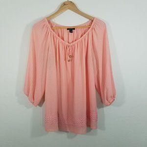 Alyx Long Sleeve Blouse Size 1X